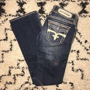 Dara Bootcut Rock Revival Jeans